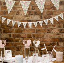 With Love Design Candy Buffet Bunting